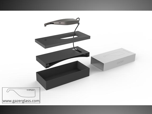 Gazer Glass battery for Google Glass